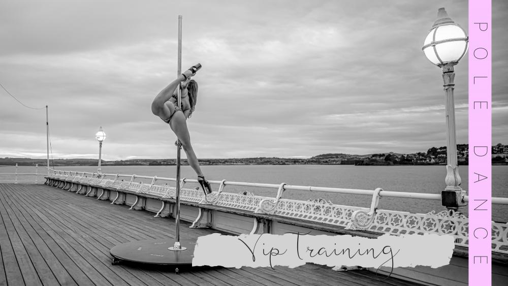 Devon Pole Dance Torquay Pier Issy Max